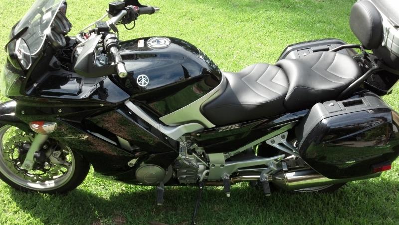 Fjr 2005 Fjr 1300 Vinyl Laam Custom Motorcycle Seats