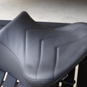 BMW RRT Low Smooth Vinyl Laam Custom Motorcycle Seats - Vinyl for motorcycle seat