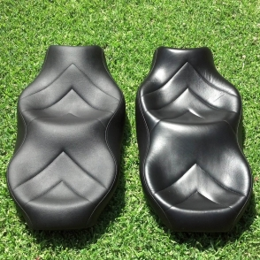 Vinyl Leather Care Laam Custom Motorcycle Seats - Vinyl for motorcycle seat